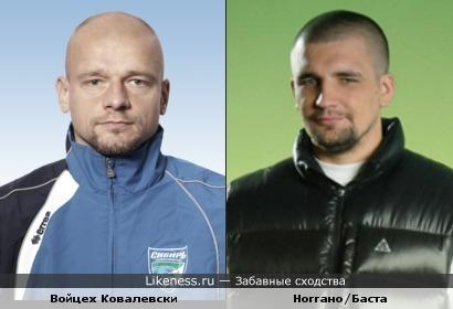 Ноггано похож на вратаря Ковалевски