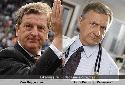 """Бывший тренер """"Ливерпуля"""" Рой Ходжсон напоминает Боба Келсо"""