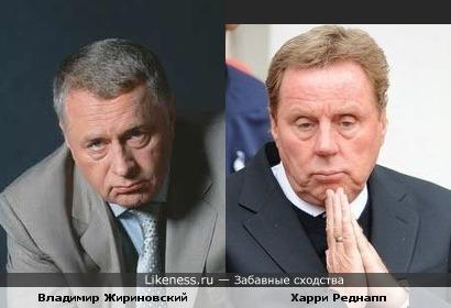 """Тренер """"Тоттенхэма"""" похож на Жириновского"""