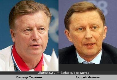 Леонид Тягачев и Сергей Иванов