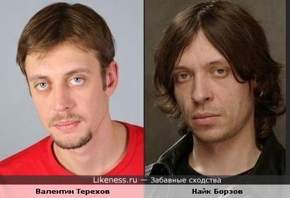 Валентин Терехов похож на Найка Борзова