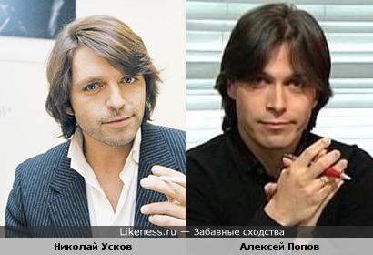 Николай Усков похож на Алексея Попова (комментатор Формулы-1)