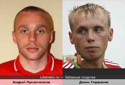 """Андрей Луканченков (""""Спартак"""" Нальчик) похож на Дениса Глушакова"""