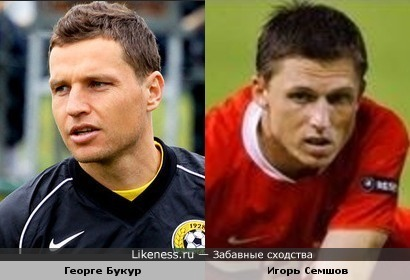 "Игрок ""Кубани"" (Краснодар) Георге Букур похож на Игоря Семшова"