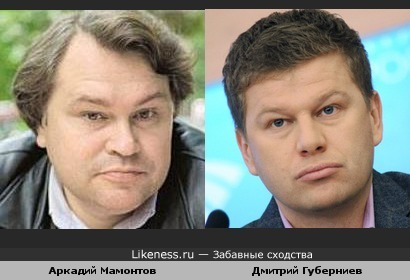 Аркадий Мамонтов похож на Дмитрия Губерниева
