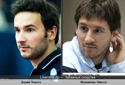Боян Токич (словенский игрок в настольный теннис) похож на Лео Месси