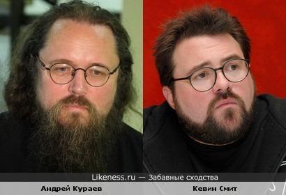 Андрей Кураев похож на Кевина Смита