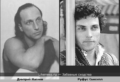 Дмитрий Нагиев и Руфус Сьюэлл похожи