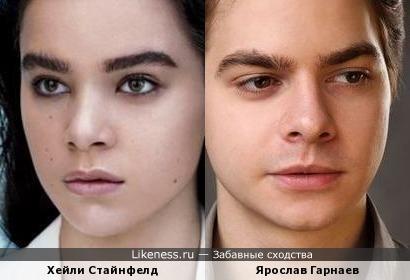 Хейли Стайнфелд и Ярослав Гарнаев