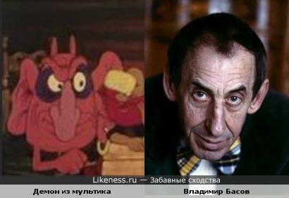 Персонаж мультфильма про казаков похож на Басова