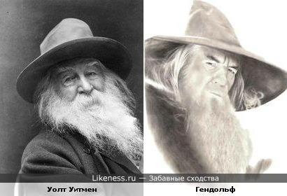 Уолт Уитмен и Гендольф
