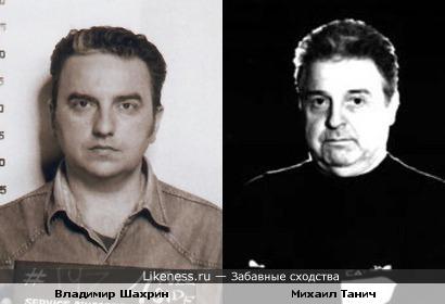 Владимир Шахрин похож на Михаила Танича