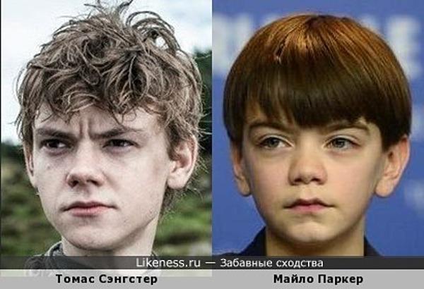 Один мальчик подрос - другой подрастает...