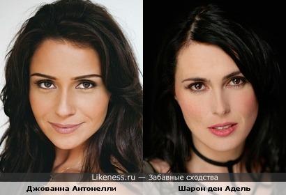 Джованна Антонелли и Шарон ден Адель похожи