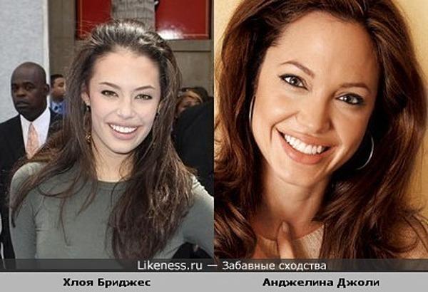 Хлоя Бриджес напоминает Анджелину Джоли
