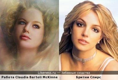 Работа Claudia Bartoli McKinney чем то напомнила Бритни Спирс