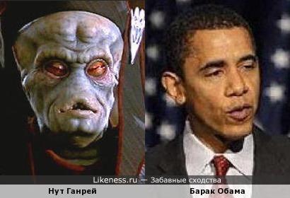 Персонаж Звёздных Войн напомнил Обаму