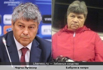 "Тренер Донецкого ФК ""Шахтер"" и якась бабуля"