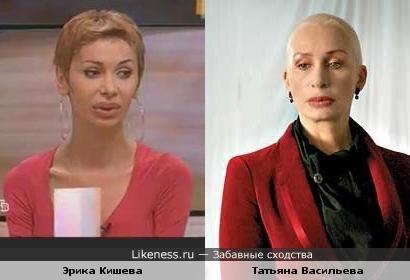 Эрика Кишева и Татьяна Васильева
