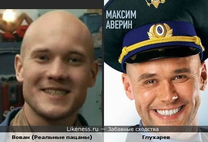 Владимир Селиванов похож на Максима Аверина