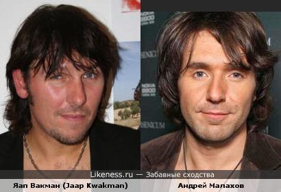 Андрей Малахов похож на музыканта из Голландии