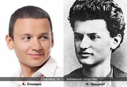 Троцкий ВНЕЗАПНО похож на Олешко