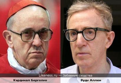 Новый Папа Римский похож на Вуди Аллена