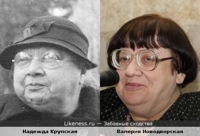 """""""Во всем виноваты коммуняки"""": Новодворская vs Крупская"""