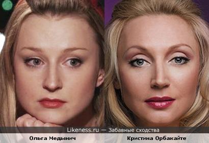 Как сестры: Ольга Медынич и Кристина Орбакайте