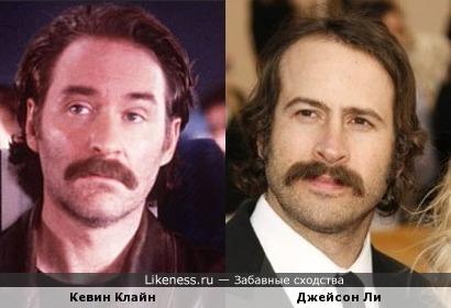 Кевин Клайн и Джейсон Ли