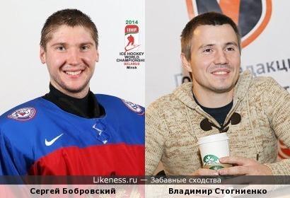 Сергей Бобровский и Владимир Стогниенко