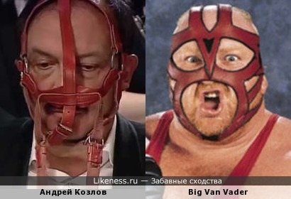 Знаток Андрей Козлов и рестлер Big Van Vader
