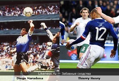 """Матч Франция-Ирландия навеял на меня мысли о """"руке божьей"""" Марадоны"""
