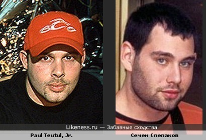 Paul Teutul, Jr. похож на Семена Слепакова