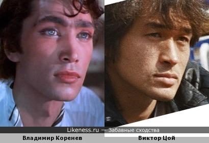 Владимир Коренев и Виктор Цой