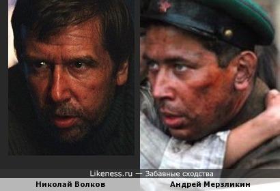 Андрей Мерзликин и Николай Волков
