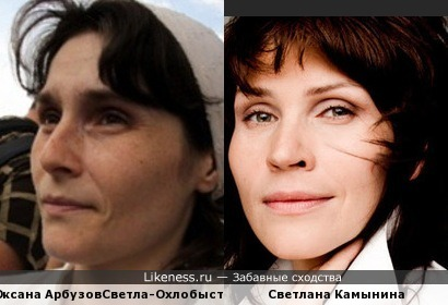 Жена Охлобыстина и жена доктора Быкова