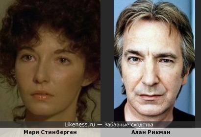 Актёры похожи