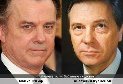 Майкл О'Киф похож на Анатолия Кузнецова