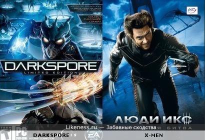 Персонаж игры Darkspore списан с Росомахи?