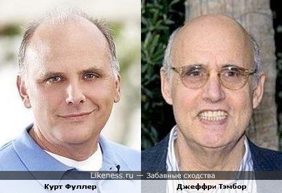 Курт Фуллер и Джеффри Тэмбор похожи