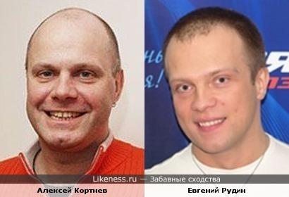 Алексей Кортнев и Евгений Рудин (DJ Грув) похожи
