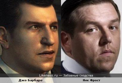 Персонаж напоминает актера