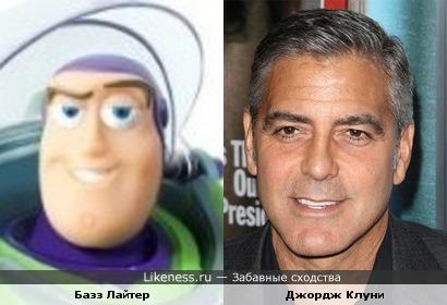 Базз Лайтер напоминает Джорджа Клуни