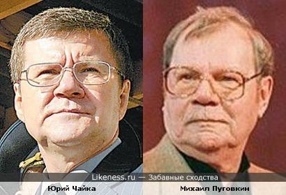 Юрий Чайка здесь похож на Михаила Пуговкина