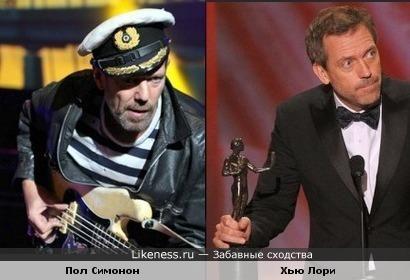 "Экс-басист панк-команды ""Clash"" Пол Симонон похож на актера Хью Лори"