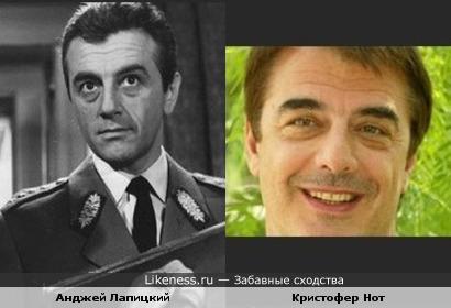 Кристофер Нот похож на Анджея Лапицкого
