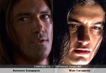 Рокер Жан Сагадеев был похож на актера Антонио Бандераса