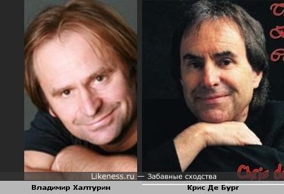 Актер Владимир Халтурин похож на певца Криса де Бурга
