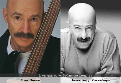"""Басист Тони Левин (""""King Krimson"""") похож на барда Александра Розенбаума"""
